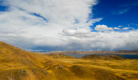Sacred Valley of the Incas. Cusco to Puno, Peru. Stock Photo