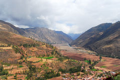 Sacred Valley of the Incas, Peru Stock Photography