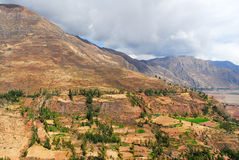 Sacred Valley of the Incas, Peru Stock Image