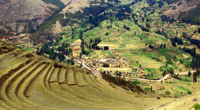 Sacred Valley of the Incas Urubamba Valley. Royalty Free Stock Photo