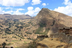 Sacred Valley Peru Stock Image