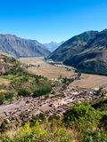 Sacred valley Peru Stock Images