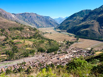 Sacred valley Peru Stock Photo