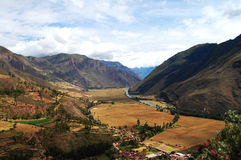 Sacred Valley - Peru Stock Image