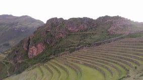 Sacred valley, Pisac, Peru, 02/07/2019 royalty free stock photo