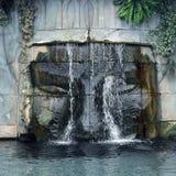 Sacred waterfall Stock Photography