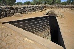 Sacred Well Of Complex Nuragico Di Santa Cristina Stock Photography
