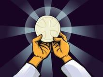 Sacrement saint illustration libre de droits