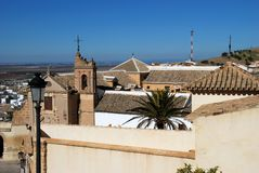 Sacret art museum, Osuna, Spain. Royalty Free Stock Photo