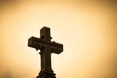 Sacrifício de significação transversal cristão Fotografia de Stock Royalty Free