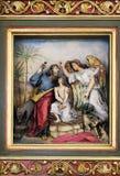 Sacrifícios Isaac de Abraham fotos de stock
