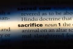 sacrifice image libre de droits