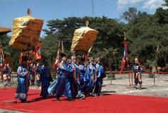 Sacrifice ritual, Changping, China. Medieval sacrifice ritual in Changping, China royalty free stock image