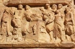 sacrifice romain de frise photo libre de droits