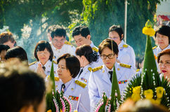Sacrifice soul heroic people Bangrachan. Stock Images