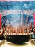 Sacrifice. Thai people worship Stock Image