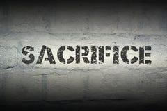 Sacrifice WORD GR images stock