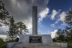 Sacrificio del monumento de Khao-Kho Fotografía de archivo libre de regalías