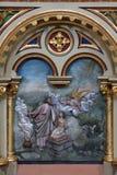 Sacrificio del ` s di Abraham di Isaac Fotografia Stock Libera da Diritti