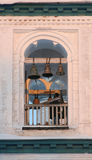 Sacristão na torre de sino Imagens de Stock