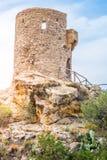 Sacristão Viewpoint do DES de Torre, Majorca fotos de stock