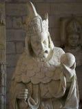 Sacristía del norte, DES Papes, Aviñón, Francia de Palais Fotografía de archivo