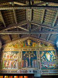 Sacristy of the Basilica di Santa Croce. Florence, Italy Stock Photography