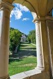 Sacro瓦雷泽圣玛丽亚del Monte,意大利Monte  E 库存图片