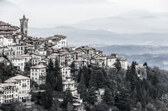 Sacro Monte二瓦雷泽 库存照片