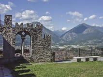 Sacro Monte Calvario Fotografia Stock