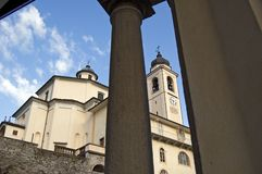 Sacro Monte Calvario Sanctuary Stock Photo