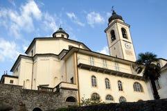 Sacro Monte Calvario Schongebiet Stockbilder