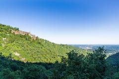 Sacro Monte de Varese - Italia Fotografía de archivo