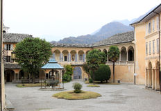 Sacro Monte di Varallo в Италии Стоковая Фотография