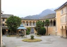 Sacro Monte Di Varallo w Włochy fotografia stock