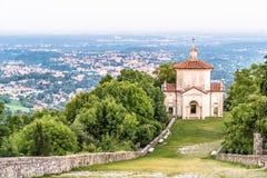 Sacro Monte di Varese o soporte sagrado, Italia Foto de archivo libre de regalías
