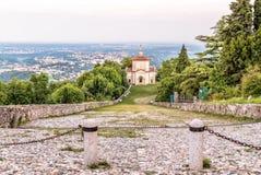 Sacro Monte di Varese o soporte sagrado, Italia Imagen de archivo libre de regalías