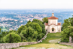 Sacro Monte di Varese or Sacred Mount, Italy Royalty Free Stock Photo