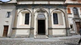 Sacro Monte Orta Сан Giulio, Италии видеоматериал