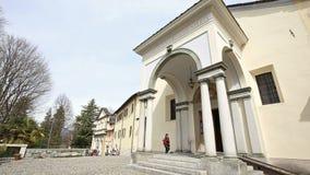 Sacro Monte Of Orta San Giulio, Itália vídeos de arquivo