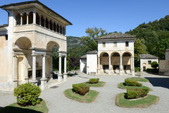 Sacro Monte of Varallo holy mountain, Italy Stock Photo