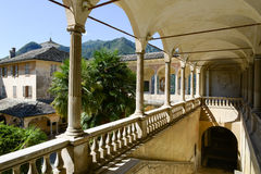 Sacro Monte of Varallo holy mountain, Italy Stock Image