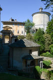 Sacro Monte of Varallo holy mountain, Italy Royalty Free Stock Photo