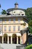 Sacro Monte of Varallo holy mountain, Italy Stock Photos