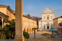 Sacro Monte of Varallo Sesia Piedmont italy Royalty Free Stock Images