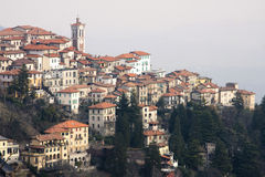Sacro monte in varese Stock Photo