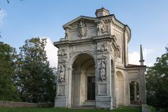 Sacro Monte in Varese Stock Photography