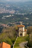 Sacro monte of Varese, Italy Royalty Free Stock Images