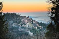Sacro Monte of Varese, World Heritage site. Site UNESCO , Varese - Italy Stock Image