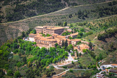 Sacromonte abbey in Granada, Andalusia, Spain Stock Photography